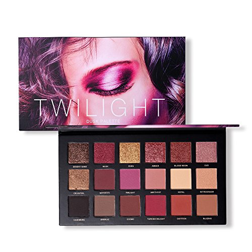 Pausseo 18 Colors Waterproof Non-staining Pearl Glitter Eye Shadow Powder Palette Matt Eyeshadow Cosmetic Makeup Durable Matte Pearlescent Eyeshadow Tray Smokey Natural Nude Plate Beads Shining Set