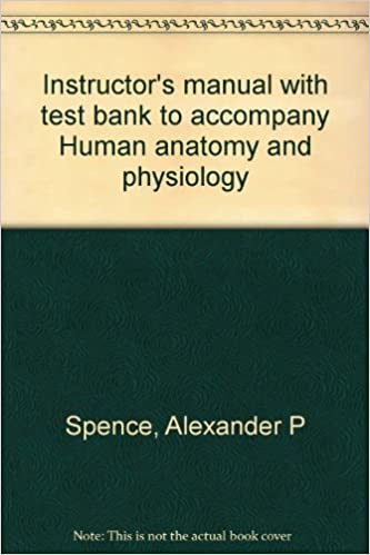 Instructor\'s manual with test bank to accompany Human anatomy and ...
