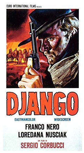 Django Poster Movie Italian 11x17 Franco