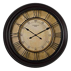 Studio Designs Home 73002 29 Traditional Chateau Wall Clock,Espresso