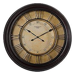 Studio Designs Home 73002 29 Traditional Chateau Wall Clock,Espresso