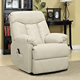 Metro Shop ProLounger Lya Cream Renu Leather Power Recline and Lift Wall Hugger Chair Review