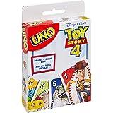 Mattel Games UNO Juegos de Mesa Toy Story 4 Juego de Cartas para Niños +7 años
