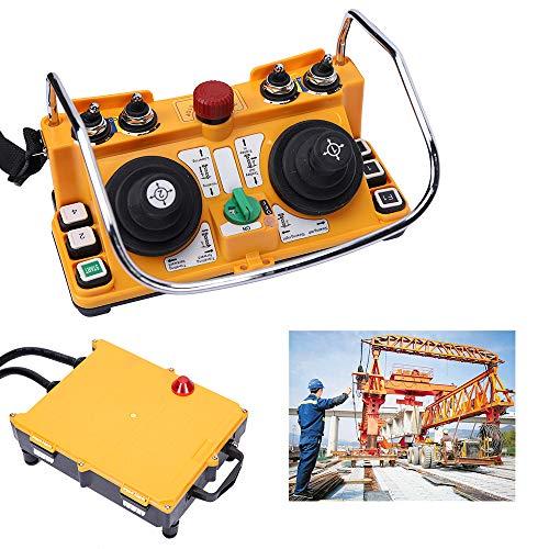 (RanBB Industrial Remote Control F24-60 24V Transmitter Receiver Wireless Joystick Crane)
