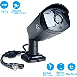 Security Camera, JOOAN 1080P TVI Home Security Surveillance Cameras with 3.6MM Lens Video Cameras Plug and Play-No include Power supply