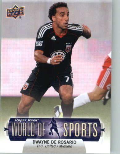 fan products of 2011 Upper Deck World of Sports Baseball Trading Card #386 Dwayne De Rosario SP - D.C. United (Short Print) (Soccer)