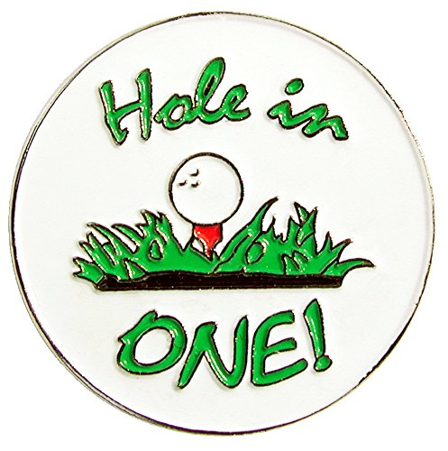 Navika Hole In One Ball Marker with Magnetic Clip Ball In Visor