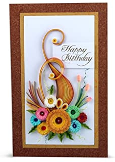 Handcrafted emotions handmade birthday greeting card amazon handcrafted emotions handmade birthday greeting card m4hsunfo
