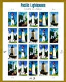 Pacific Lighthouses Sheet of 20 41 Cent