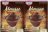 Dr. Oetker Organics Milk Chocolate Mousse - 3.1 oz - 2 ct