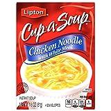 Lipton Cup A Soup Instant Soup, Chicken Noodle with White Meat Soup, 1.8 oz 4 ct