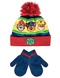 Paw Patrol Boys Paw Patrol Hat and Gloves Set Multicolored One Size