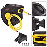 Hose 3/8' Air Compressor Reel Retractable 50 Ft. 300 Psi Auto Rewind Garage New Tools