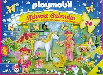Playmobil 4158 : Calendrier de l\'Avent : Licorne au Pays des Fées ...