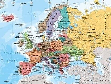 Cartina Con Capitali Europa.Scheda Dell Europa Plastificata Con Paesi E Capitali Produzione Formato 40 X 50 Cm Impression 2013 Amazon It Cancelleria E Prodotti Per Ufficio
