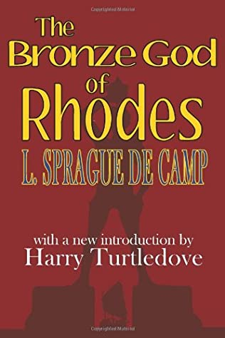 book cover of The Bronze God of Rhodes