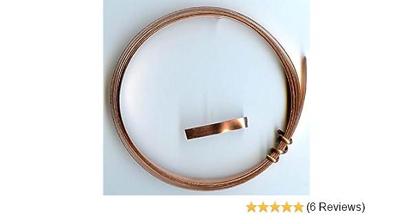 Amazon.com: Solid Copper Wire Bezel / Strip 3/16\