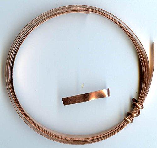 Solid Copper Bezel Strip Gauge product image