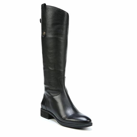 Sam Edelman Women's Penny 2 Wide Shaft Black/Basto Dye Lea W AwL33xB748