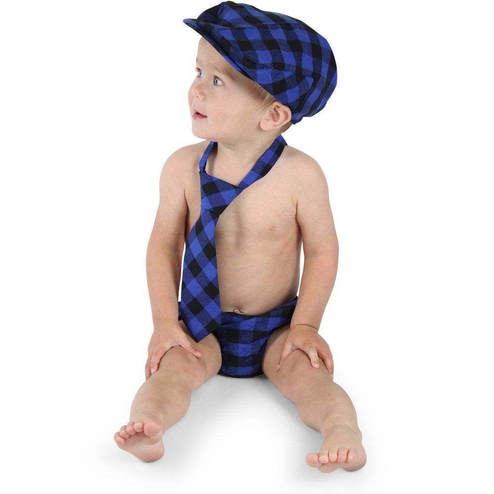 juDanzy baby boys gift box cabbie hat set