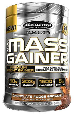 (MuscleTech Pro Series Mass Gainer, Chocolate, 81.1 Ounce, Pack of 1)