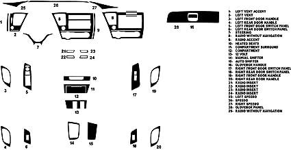 Interior Trim Accessories Carbon Fiber For Honda Civic 2012 2013 2014 2015