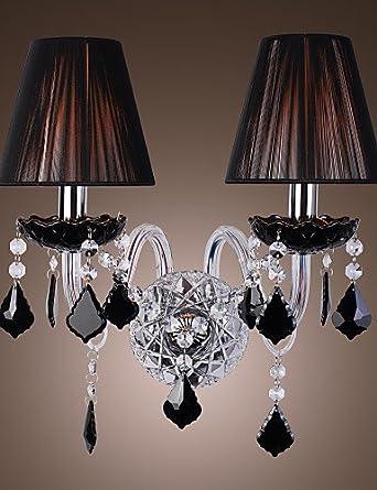 GOUD Lampada da parete MAMARONECK - Applique in cristallo con ...