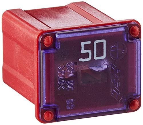 Bussmann FMX-50LP MAXI Fuse (Low Profile 'Slow Blow' Female - 50 A (Red)), 1 Pack