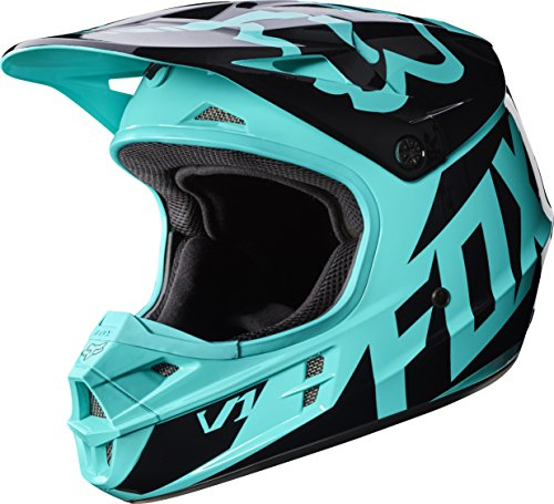 Helmet Race Small (2017 Fox Racing V1 Race Helmet-Green-2XL)