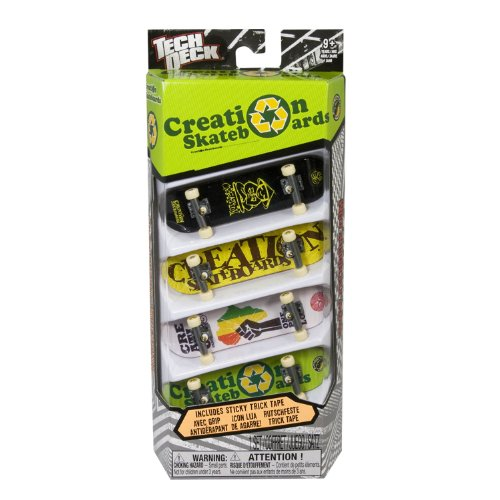 Tech Deck 96MM Fingerboards 4 Pack (Styles vary) by Spin Master (Image #5)