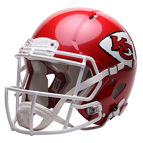Kansas City Chiefs Officially Licensed Speed Authentic Football Helmet by Riddell