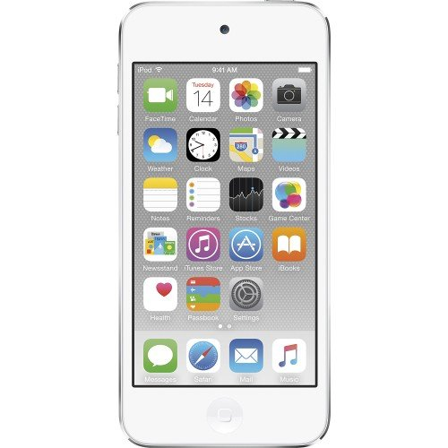 Apple iPod Touch 32GB Silver (6th Generation) MKHX2LL/A (Renewed) (Ipod Touch 32 Silver)
