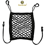 Stretchable Pet Barrier & Organizer — 10″x12″ Storage Net & Seat Restrain for Dogs & Cats – No Assembly required – Setup in Vehicle under 3 minutes – Works in Sedans, SUVs, Vans & Pickup Trucks For Sale