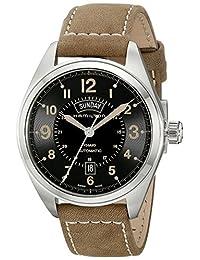 Hamilton Men's H70505833 Khaki Field Analog Display Automatic Self Wind Brown Watch