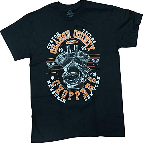 Orange County Choppers OCC Motorcycle Men's T-Shirt - Chopper Motorcycle T-shirt