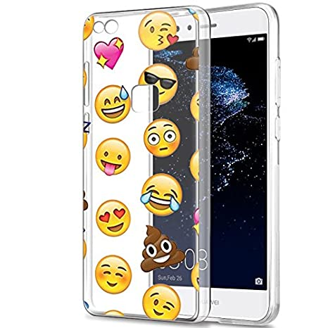 quality design 50cae 5cf07 Huawei P10 Lite Case, Eouine Ultra Slim Soft TPU Shockproof Protective  Pattern Bumper Case Silicone Gel Cover for Huawei P10 Lite 5.2-inch  Smartphone ...