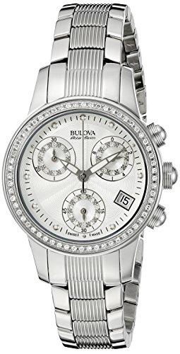 Bulova Accu Swiss Women's 63R141 Diamond Watch