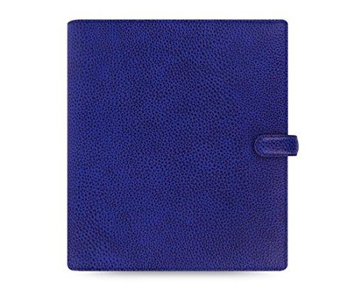 Filofax 2016 Finsbury A5 Leather Organizer Agenda Diary Electric Blue Calendar 022500 ()