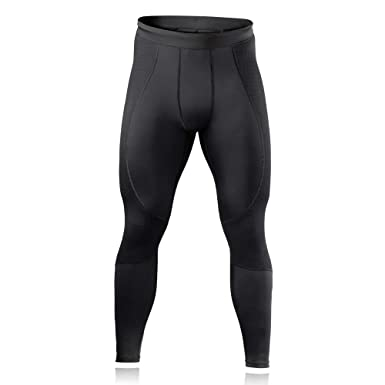 daef3cb26c Rehband Men's ITBS Compression Tights - Medium - Black - High Performance  Men's Tights for Workouts