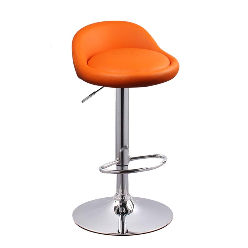 9 Bar Stools Home Bar Stools, Lift Bar Chair High Foot Backrest Bar Chair Household Continental Chair Adjustable Height with Armrests Stool (color    3)