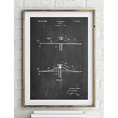 Zildjian Swish Cymbal Patent Poster Color Vintage Parchment Size 20x30