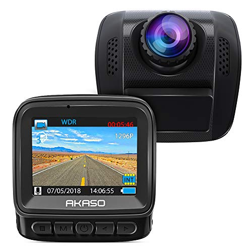 AKASO 1296P Dash Cam - HD Car Dash Camera 170