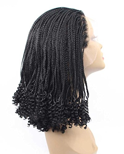 Tsnomore Black Braid Curly Synthetic product image
