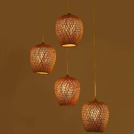 DDS Estilo Retro de la lámpara de Techo de bambú del sudeste ...