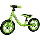 Mamba Sport 12' Balance Bike with Handlebar Pad (Green)
