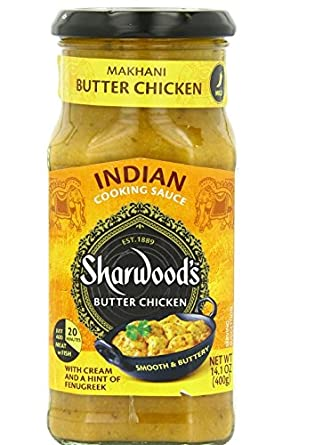Sharwoodu0027s Butter Chicken Cooking Sauce 395ml