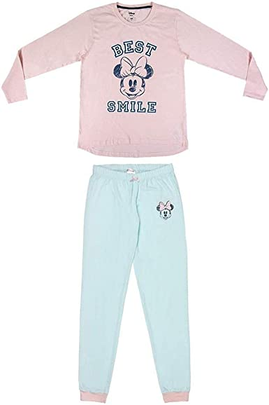 CERDÁ LIFES LITTLE MOMENTS Mujer Pijama Minnie-Licencia ...