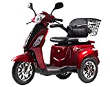 T4B LU-500W Mobility Electric Scooter 48V20AH with Three Speeds, 14/22/32kmph