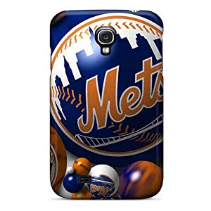 Samsung Galaxy S4 Ffi18991pvUR Allow Personal Design Beautiful New York Mets Pictures Shock-Absorbing Hard Cell-phone Cases -RudyPugh