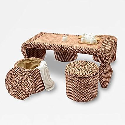 HOOM-Sillas de mimbre simple balcón té mesas y sillas muebles ...